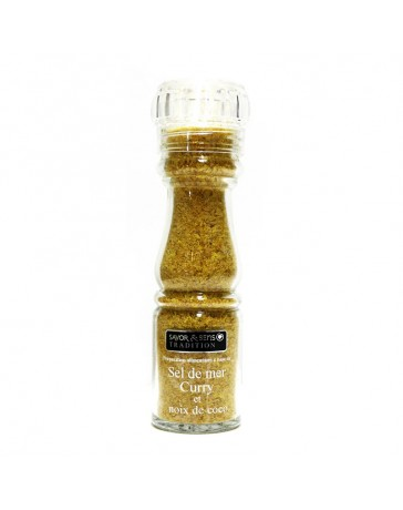 SEL CURRY & NOIX DE COCO - 135G - SAVOR CREATIONS