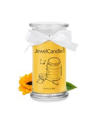 Jewel candle - Honey and Milk - JEWEL CANDLE