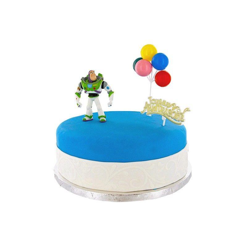 Kit de décoration gâteau - BUZZ L'ECLAIR / TOY STORY - PATISDECOR