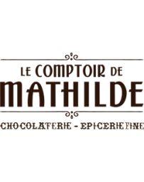 TABLETTE DE CHOCOLAT NOIR - VIOLETTE - 80G - LE COMPTOIR DE MATHILDE