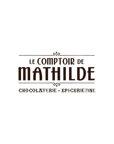 TABLETTE DE CHOCOLAT AU LAIT - RIZ SOUFFLE - 80G - LE COMPTOIR DE MATHILDE