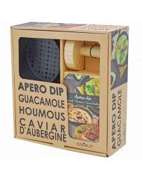 Kit Apéro Dip - Préparation pour Guacamole / Houmous / Caviar d'Aubergine - COOKUT