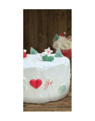 Décoration sucrée pour gâteau - SWEET CHRISTMAS - SCRAPCOOKING
