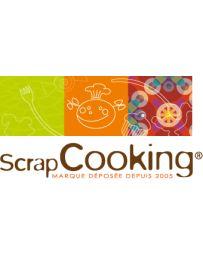 Cercle à pâtisserie extensible en INOX - Hauteur 12cm - SCRAPCOOKING