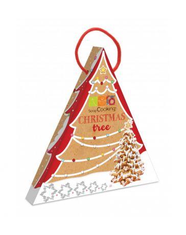 Kit Christmas Tree - Emporte-pièce pour réaliser un sapin en biscuits - SCRAPCOOKING