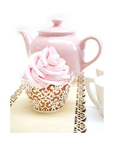 Contours dentelle pour cupcakes x 12 - SCRAPCOOKING