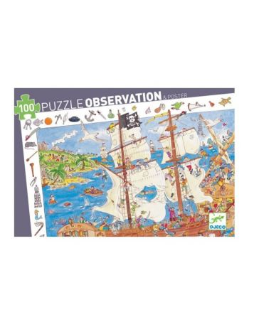 PIRATES - PUZZLE D'OBSERVATION - DJECO