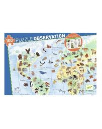 ANIMAUX - PUZZLE D'OBSERVATION - DJECO