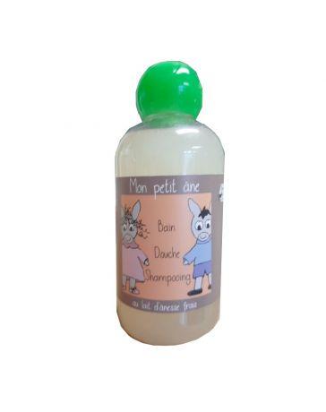 """Gel douche - Shampoing """" Mon petit âne """" - Senteur Biscuit - 200ml - BONNET D'ÂNE - ASINERIE DE L'AVESNOIS"""