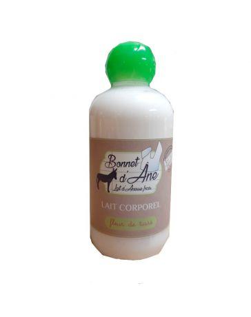 Lait corporel Fleur de Tiaré au lait d'ânesse - 250ml - BONNET D'ÂNE - ASINERIE DE L'AVESNOIS