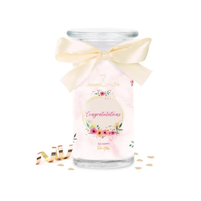 Bougie Bijou - CONGRATULATIONS - JEWEL CANDLE
