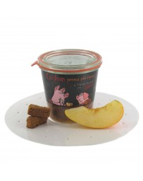 VERRINE STEPHANE REYNAUD - COCHON POMMES PAIN D'EPICES - TEYSSIER