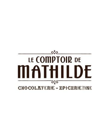 CUILLERE CHOCOLAT CHAUD - LAIT FRAISE TAGADA - LE COMPTOIR DE MATHILDE