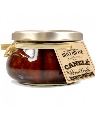 CANELE RHUM VANILLE - 260G - LE COMPTOIR DE MATHILDE