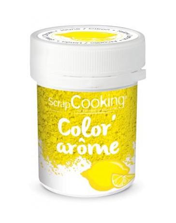 Color'Arôme - JAUNE/CITRON - SCRAPCOOKING