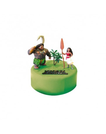 Kit de décoration gâteau - VAIANA - CERF DELLIER