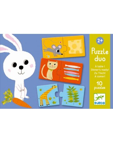 PUZZLE DUO A TABLE! - DJECO