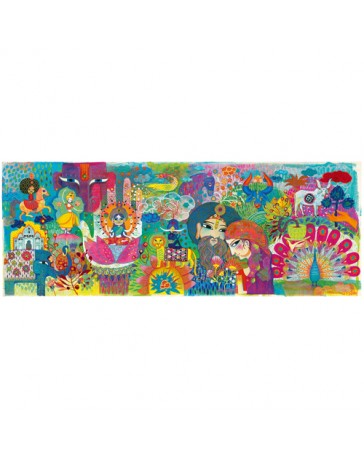 MAGIC INDIA - PUZZLE GALLERY - DJECO
