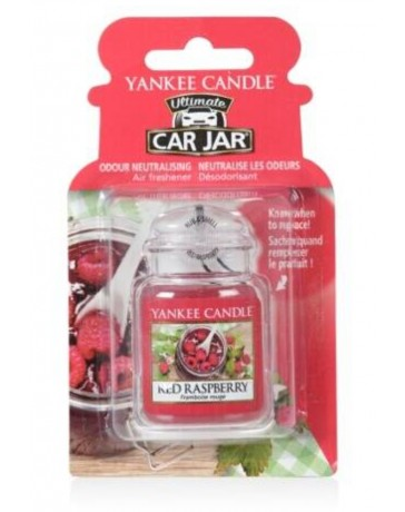 Framboise rouge - CAR JAR ULTIMATE - YANKEE CANDLE