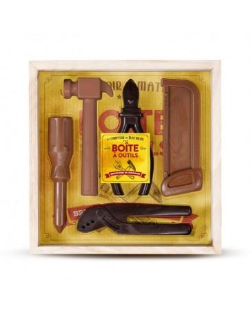 BOÎTE À OUTILS - Chocolat noir & lait - LE COMPTOIR DE MATHILDE