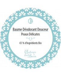 BAUME DEODORANT - DOUCEUR - 50ML - AUTOUR DU BAIN