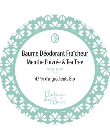 BAUME DEODORANT - FRAÎCHEUR - 50ML - AUTOUR DU BAIN