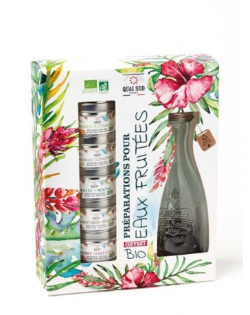 COFFRET PREPARATION BIO POUR EAUX FRUITEES - QUAI SUD