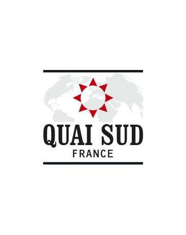 MELANGE POUR COCKTAIL - FRENCH FANTAISIE (Pomme, Fraise) - Verre à cocktail 100g - QUAI SUD