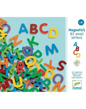 83 Petites Lettres - MAGNETIQUES BOIS - DJECO